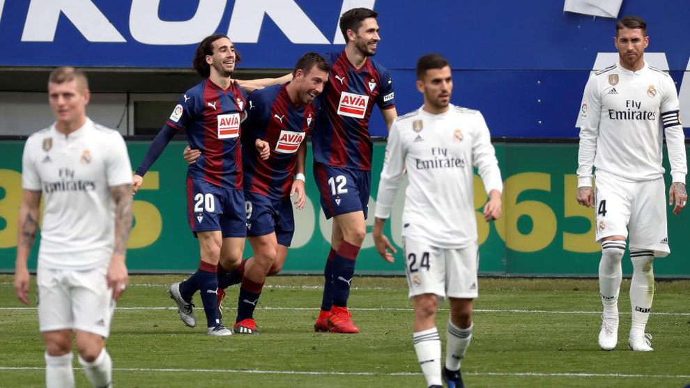 Eibar Humiliate Real Madrid With A Stunning 3 0 Victory Sports