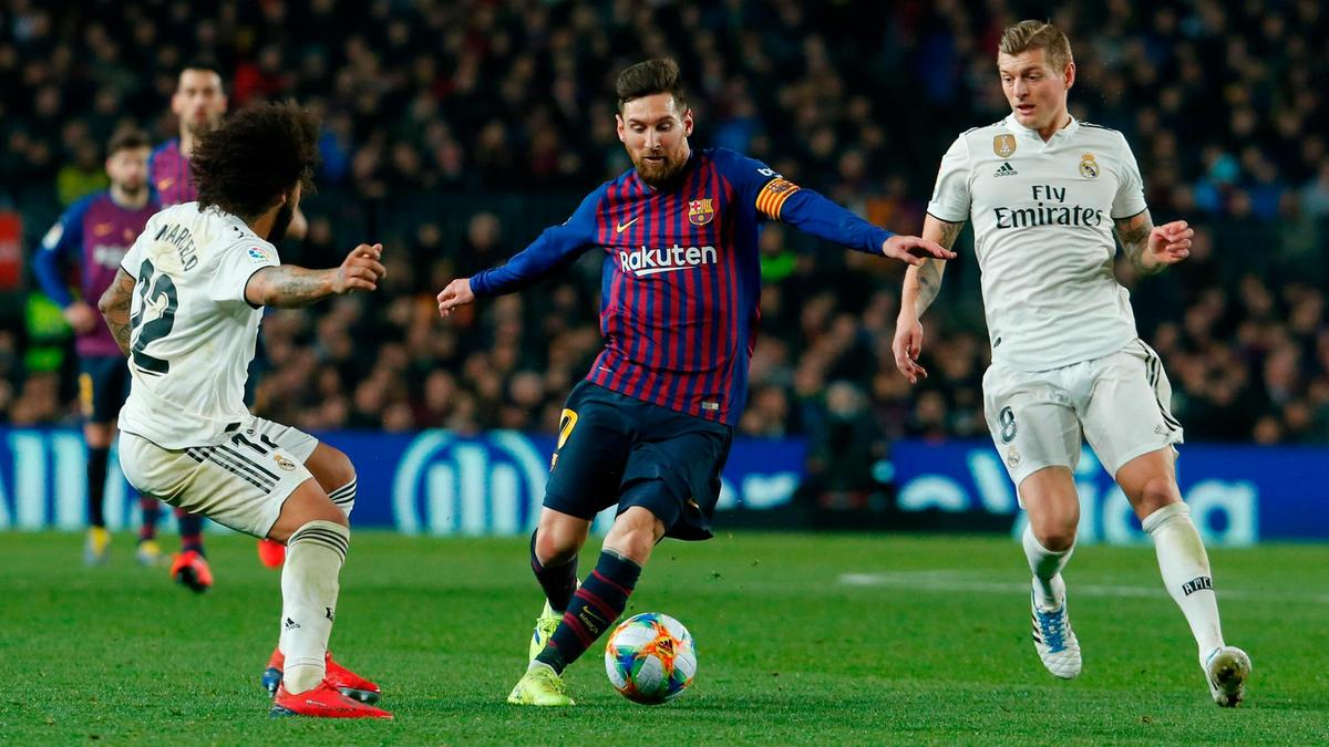 Lionel Messi played only as a substitute for Barcelona in midweek against Real Madrid. AFP Lionel Messi played only as a substitute for Barcelona in midweek against Real Madrid. AFP