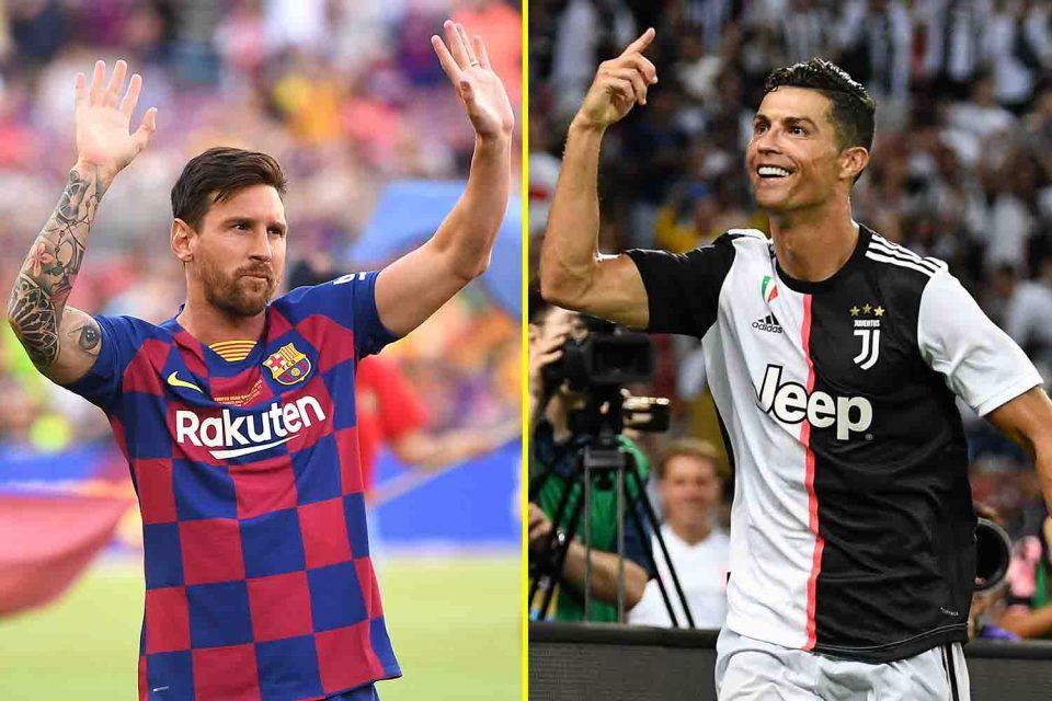 Lionel Messi and Cristiano Ronaldo . Credit TalkSport