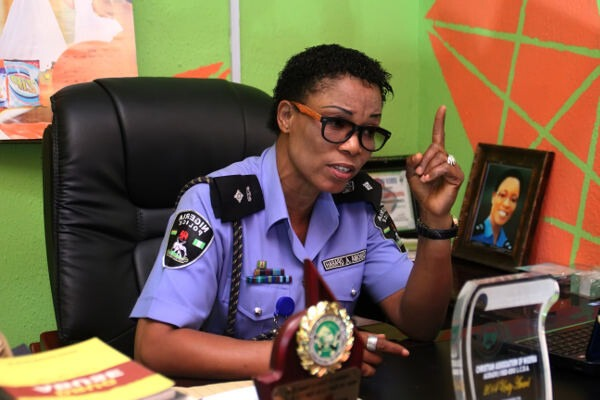 Chioma Ajunwa who is first black African woman to win an Olympic gold medal in a field event is an Assistant Commissioner of Police. Photo Credit: the interview.ng